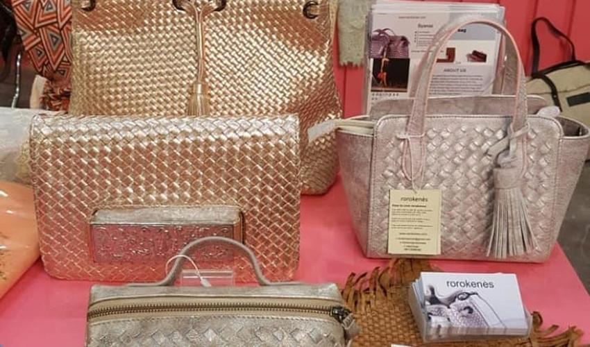 Rorokenes Tas Anyam Kulit Woven Leather Bag