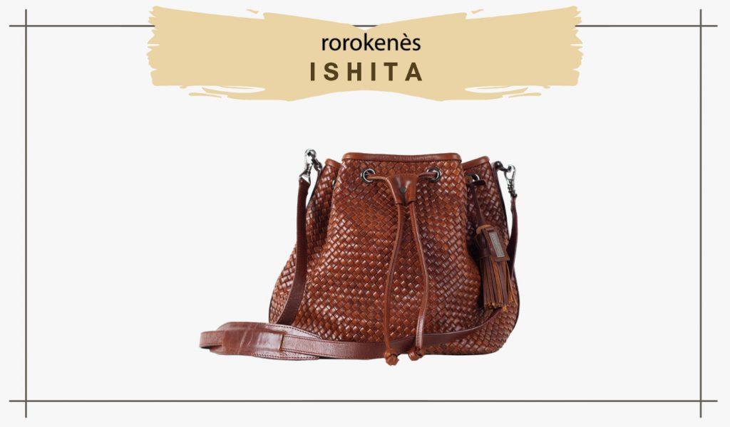 Leather Woven Bag Ishita Rorokenes Genuine Leather