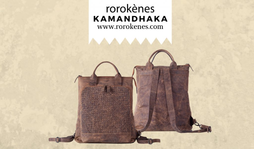 backpack Rorokenes Kamandhaka Bag Genuine Leather