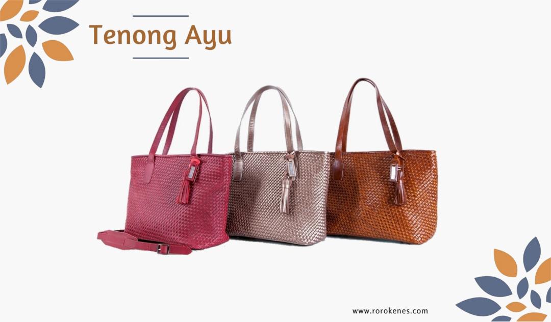 Handmade Tote Bag Tenong Ayu Rorokenes