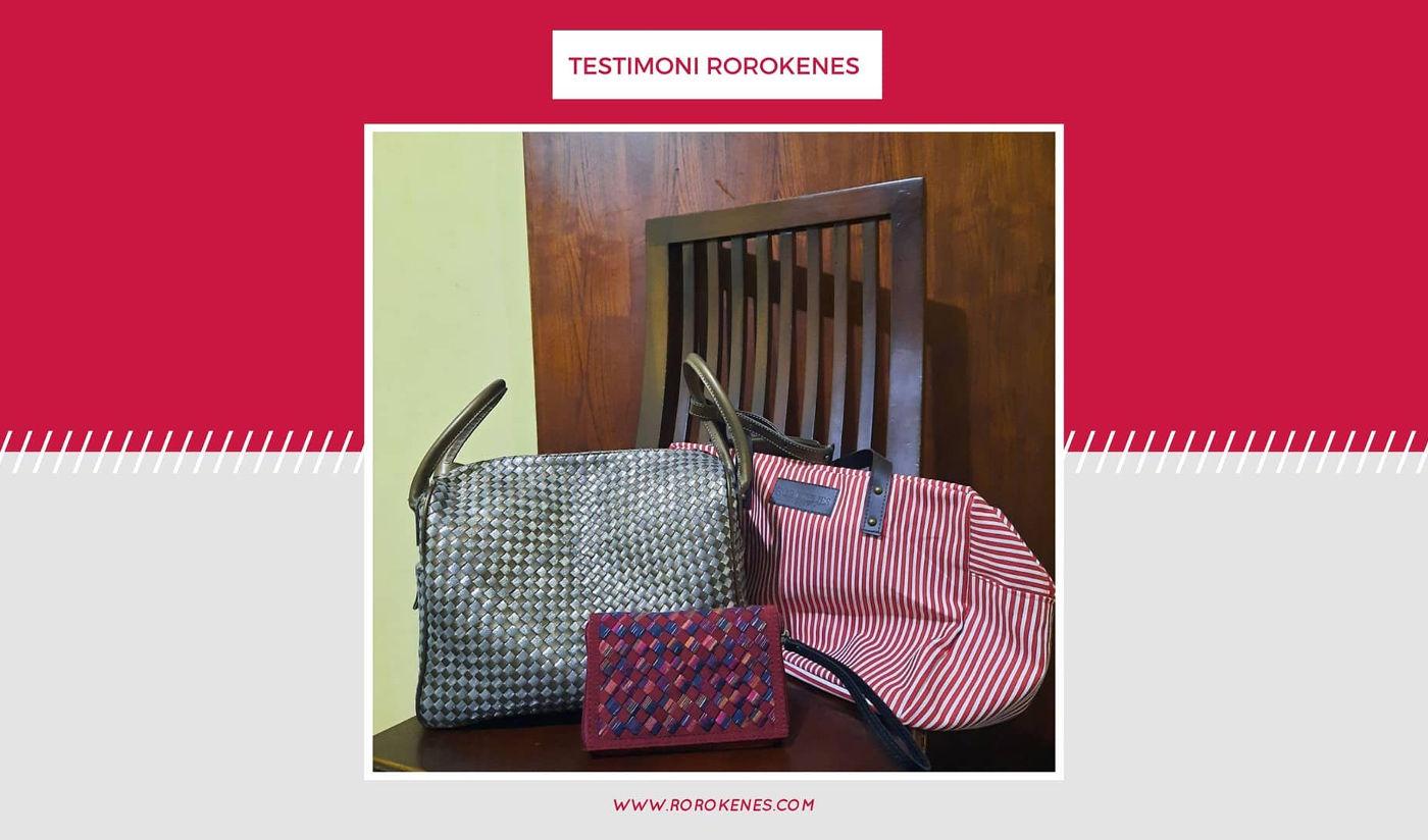 Testimoni Tas Kulit Anyam Brand Asli Indonesia Lindung Ayu Rorokenes