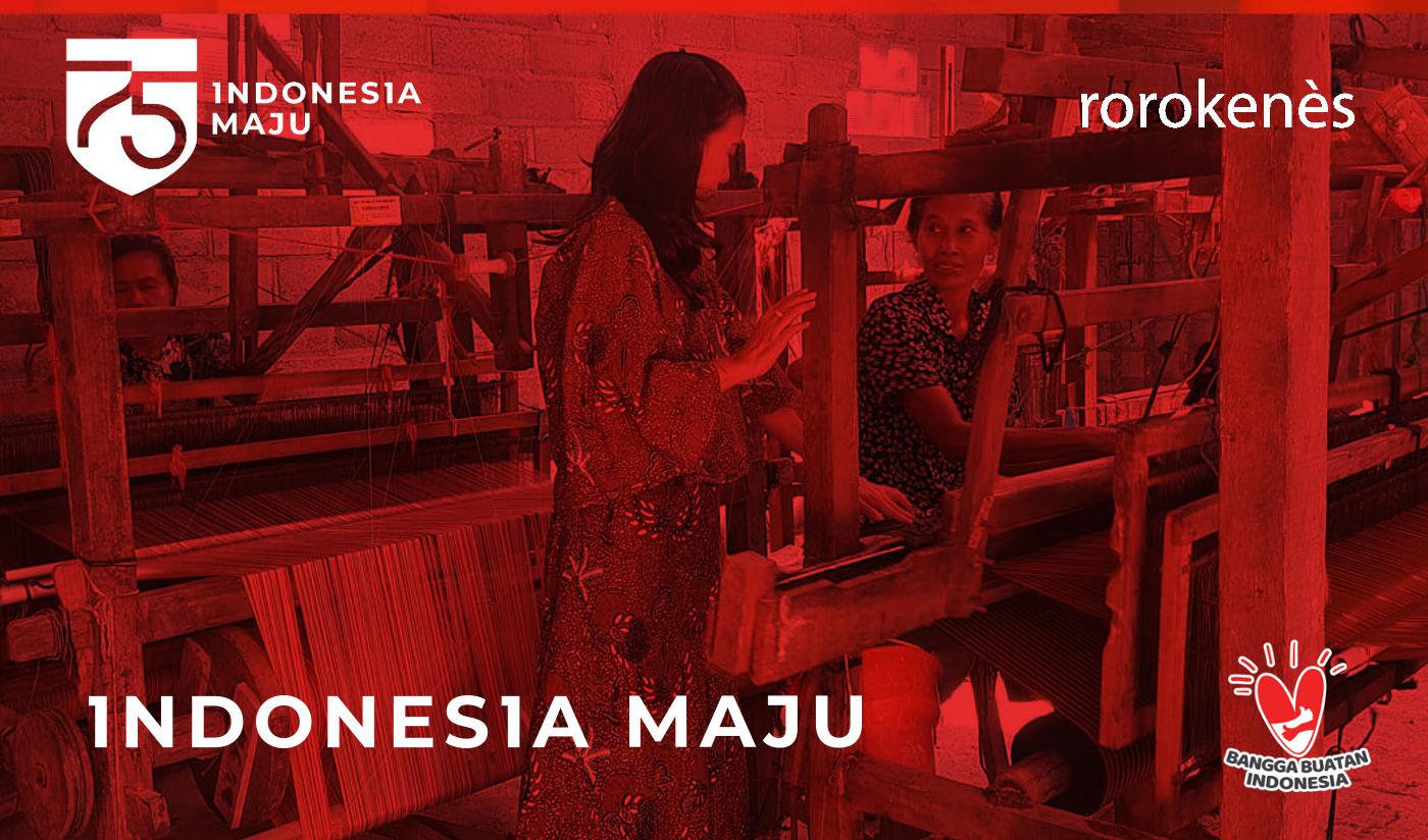 Rorokenes Mencintai Produk Indonesia, Memaknai HUT Ke-75 RI