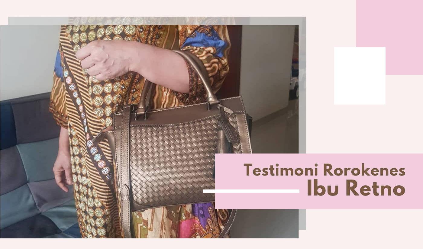 Testimoni Sumping Handbag Anyaman Kulit Berkualitas