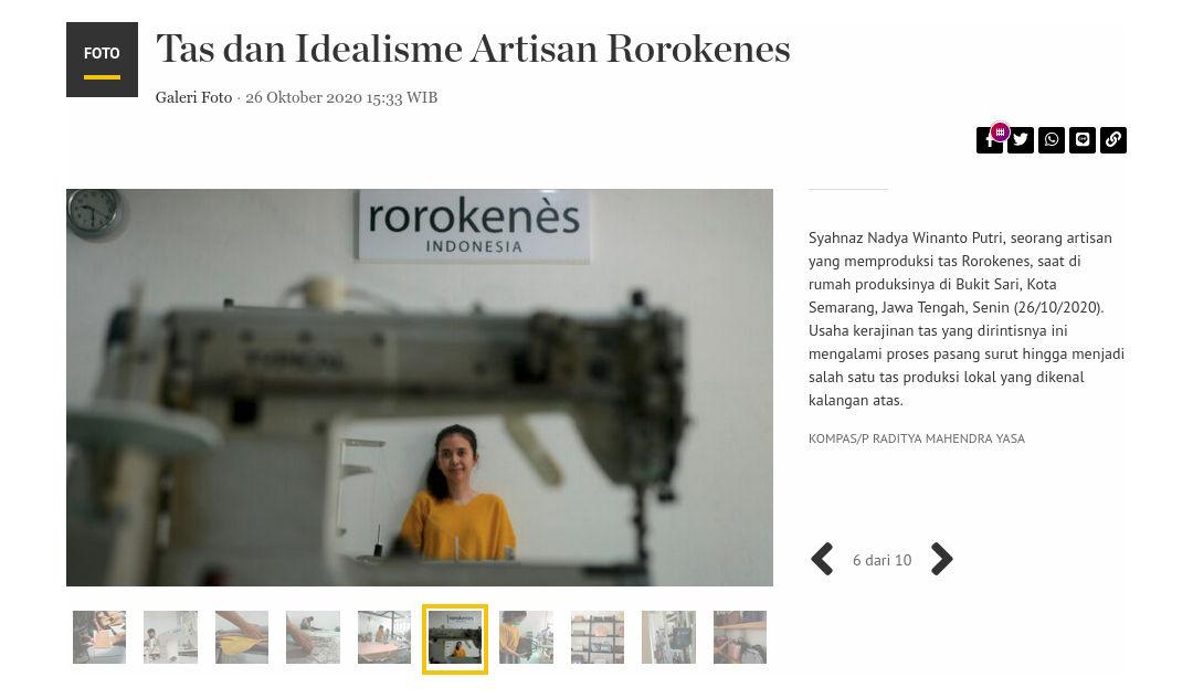 Media Coverage Rorokenes Kompas Oktober 2020