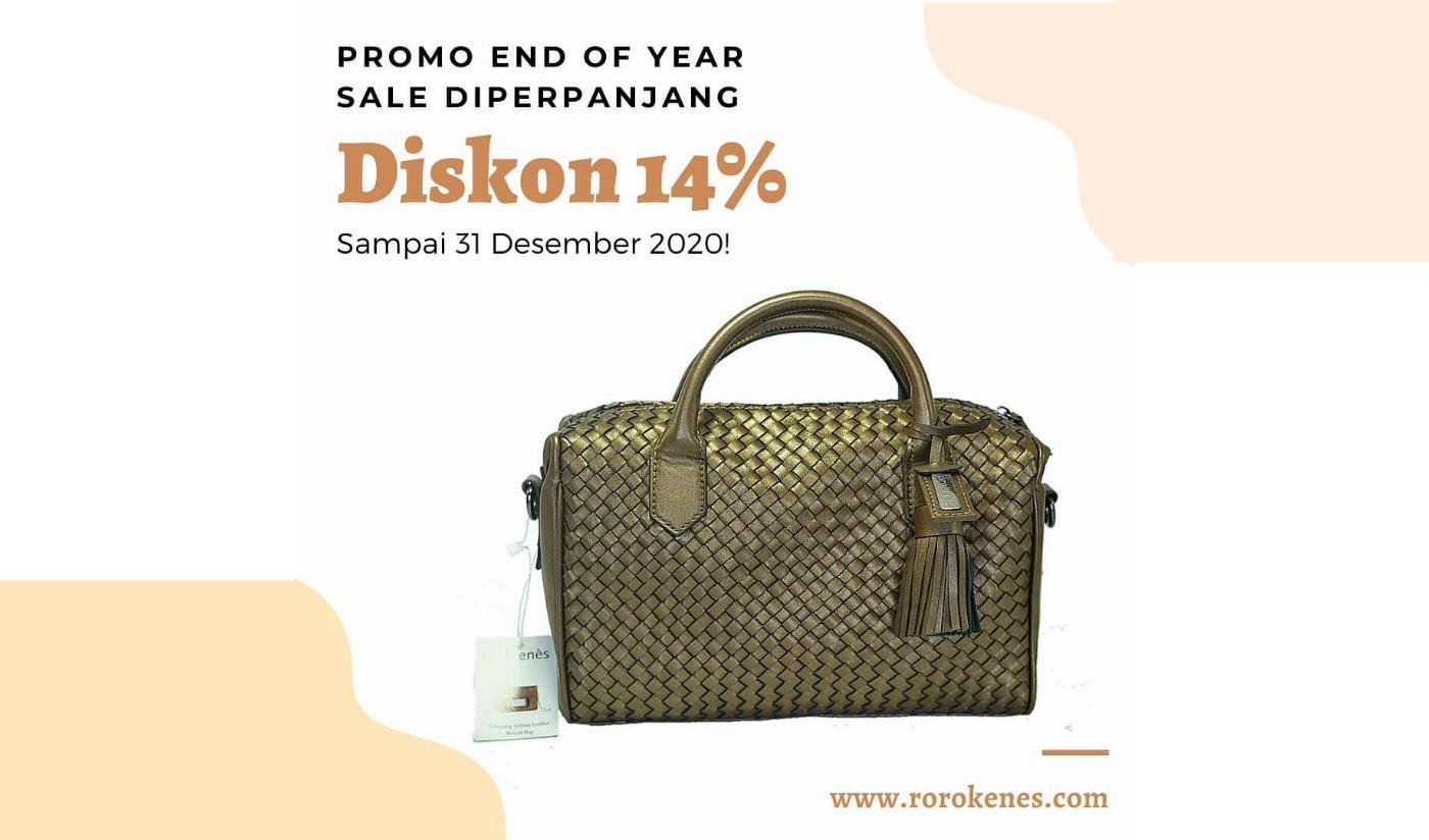 Promo End of Year Sale Diskon Rorokenes