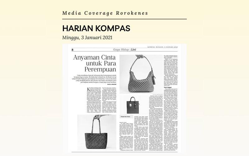 Media Coverage Rorokenes di Kompas Januari 2021