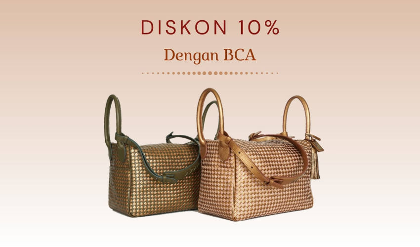 Tas Brand Indonesia Rorokenes Diskon 10% Promo BCA