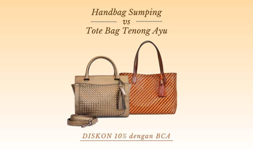 Tote Bag Handbag Brand Lokal Berkualitas Rorokenes Indonesia