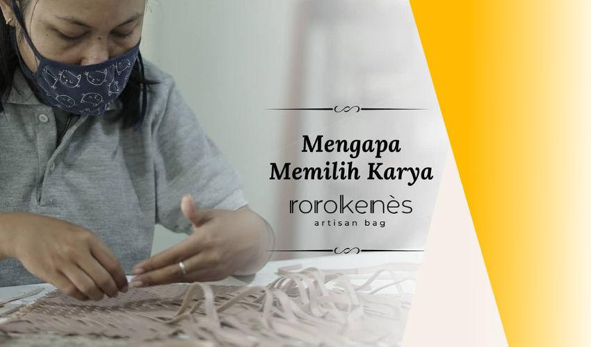 Tas Anyaman Indonesia Karya Rorokenes