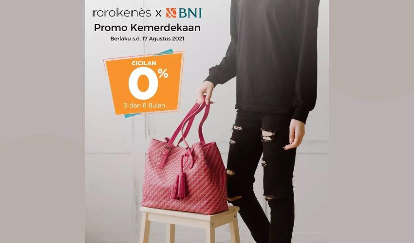 Promo Tas Brand Indonesia Rorokenes Cicilan 0%